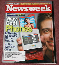 NEWSWEEK MAGAZINE - 6/7/04 - WAY COOL PHONES - THE COMPUTER OF THE FUTURE