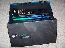 "GHD Coral,Lagoon,Sunset 1"" Gold Professional Styler Flat Iron Bird of Paradise"