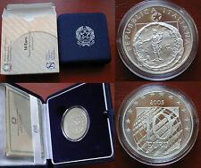 REPUBBLICA ITALIANA I.P.Z.S. MONETA ARGENTO 10 € PROOF 2005 PACE LIBERTA' EUROPA