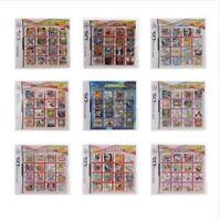 DS 3DS Nintendo Video Game Multi Cart Cartridge Super Combo Mario Naruto TMNT
