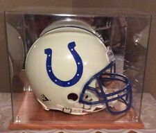 INDIANAPOLIS COLTS NFL Full Size RIDDEL Football Helmet, DISPLAY CASE CONDITION!