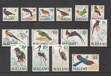 Malawi SG 310 - 323 Birds Set Mint Never Hinged UMM