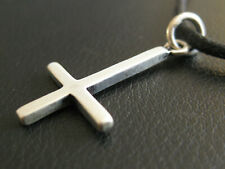 Kreuz 925 er Silber Ketten Anhänger Marke etNox umgedrehtes Kreuz    / KA 367