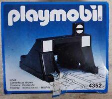 Playmobil 4352 - Train Buffer Stop - Inhalt - Vintage FP
