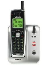 VTech CS5111 1-Handset Cordless Phone, Silver/Black