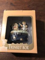Porcelain Collectable Trinket Box