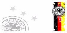 GERMANY Flag Custom License Plate GERMAN Emblem Deutschland  Version # 5