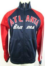 Atlanta Braves Womens Small to X-Large Full Zip Embroidered Track Jacket ATB 3
