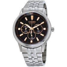 Citizen Corso Black Dial Stainless Steel Men's Watch BU2070-55E