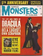 Warren Famous Monsters Of Filmland #22 Bela Lugosi Dracula Hi-Grade Issue Rare