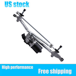 28800-JD900 New Front Windshield Wiper Motor + Linkage For 07-14 Nissan Qashqai