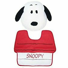 PEANUTS toilet cover & mat 2 Snoopy