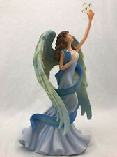 THOMAS KINKADE Reflections of my Soul Angel Figurine HAMILTON COLLECTION