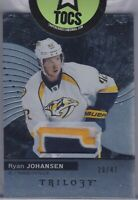 Ryan Johansen 2017-18 Trilogy Patch Card 29/47 Nashville Predators 3 Color