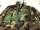 US Army Coat Cold Weather Field Woodland Camo 8415-01-099-7835 Medium Regular