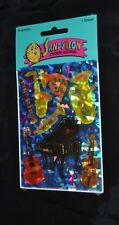 Vtg 80's Prismatic SANDYLION Stickers Musical Instruments PIANO VIOLIN TUBA HORN