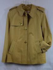 Coach Authentic Women's Khaki Leather Bonnie Jacket Small 83353 NWT $898