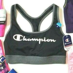 Champion Sports Bra Logo Size Small Women's Authentic Seamless Racer back NWT