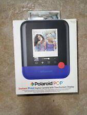 Brand New - Polaroid - POP Instant Print - Digital Camera - Blue