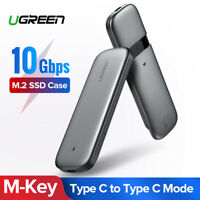 UGREEN M.2 SSD Enclosure USB 3.1 Type C Gen 2 10Gbps to M-Key Hard Drive Case