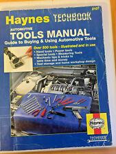HAYNES TECHBOOK AUTOMOTIVE TOOLS MANUAL #2107 1994 paperback