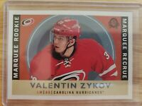 2017-18 O-Pee-Chee Marquee Rookies Retro Valentin Zykov Hurricanes #502 Rookie