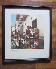 vint UDO SCHACK PHOTOGRAPH Feria de Huancayo – Peru