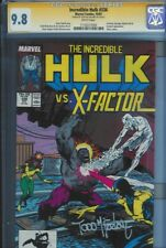 CGC SS 9.8 INCREDIBLE HULK #336 SIGNED BY TODD MCFARLANE  MARVEL