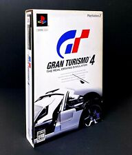 Gran Turismo 4 /w Reference Guide Booklet - PS2 Sony Racing Game from Japan F/S