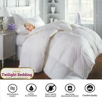 13.5 TOG DUCK FEATHER DOWN Quilt Duvet Ultra Soft Hotel Quality Bedding All Size