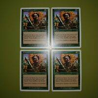Rampant Growth x4 - Seventh Edition 7th - Magic the Gathering MTG 4x Playset