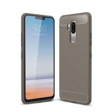 LG G7 TPU CASE FIBRA CARBONIO OTTICA Spazzolato Custodia Cover protettiva