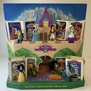 1995 McDonald's Happy Meal display~ FULL SET toys~ DISNEY MASTERPIECE COLLECTION