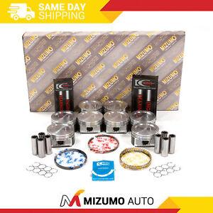 Full Gasket Set Pistons Bearings Fit 97-99 Ford Lincoln 5.4L SOHC Non(PI)