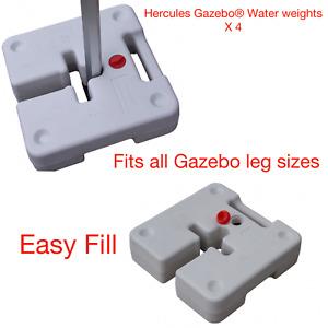 Hercules® Heavy Duty Pop Up Gazebo Leg Tent Water Weights High-density HDPE