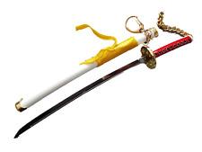Collectors Bleach Anime Ichigo replica japanese samurai ninja sword in case UK