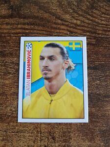 Very Rare Zlatan Ibrahimovic Sweden Topps England Euro 2012 Sticker