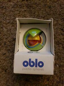 OBLO Puzzle Spheres Multi 3D Puzzle Sphere BRAND NEW IN BOX. Rare HTF super fun!