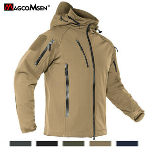 Waterproof Tactical Jackets Men's Outdoor Hiking Coats Windbreaker Zipper Pocket