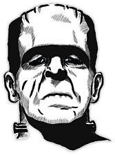 Frankenstein Франкенштейн etichetta sticker 9cm x 13cm