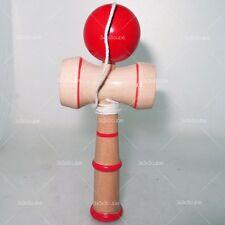 Mini Kendama Tradition Japanese RED Ball Wood Classic Toy Bilboquet Freeshiping