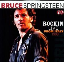 Bruce Springsteen Rockin' Live from Italy 1993 2LPs OOP Sealed Mint