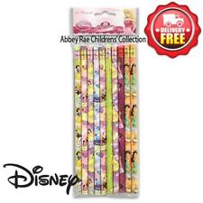 Disney Princess Lead Pencils 10 Pack Stationery Party Favours New Licensed