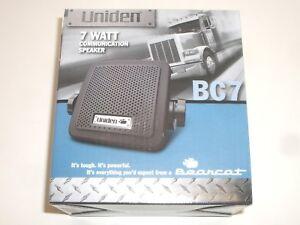 UNIDEN BEARCAT BC7 7W CB HAM SCANNER RADIO EXTERNAL COMMUNICATIONS SPEAKER