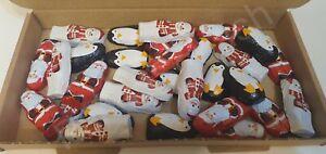 CHOCOLATE SANTAS PENGUINS SNOWMAN XMAS TREAT BOX GIFT SANTA STOCKING FILLER