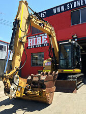 SYDNEY MACHINERY HIRE - 8 TONNE ZERO SWING EXCAVATOR DRY HIRE - FOUR BUCKETS