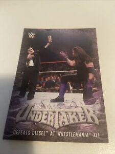 2017 Topps WWE Undertaker Tribute # 12 of 40