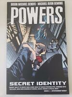 POWERS Vol 11 SECRET IDENTITY TPB 2008 ICON COMICS BRIAN BENDIS BRAND NEW UNREAD
