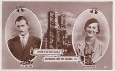 Postcard - Wedding of Duke and Duchess of Kent - A228