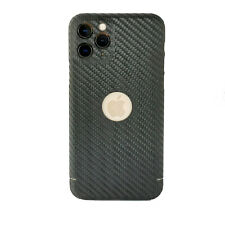 Carbon Cover mit Logo Window iPhone 11 Pro - Das Original Case - made in Germany